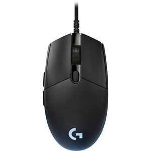 Logitech - G Pro Wired Optical Gaming Mouse with RGB Lighting - Black